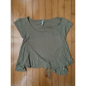 Free People Open Back T-shirt